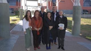 La ULP recibió a una comitiva de la Embajada de Francia