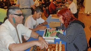 Los ajedrecistas ciegos y disminuidos visuales vuelven a reunirse en La Punta