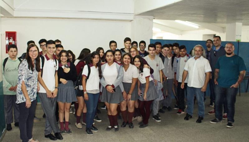 La ULP brindó talleres a alumnos de la Escuela Antonio Berni de Villa Mercedes
