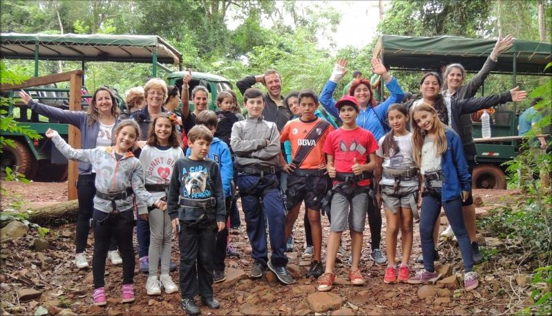 Los olímpicos disfrutaron un día a pura diversión en la selva misionera