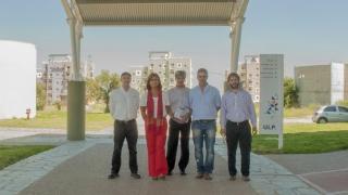 La ULP recibió la visita de empresarios de la firma Siemens