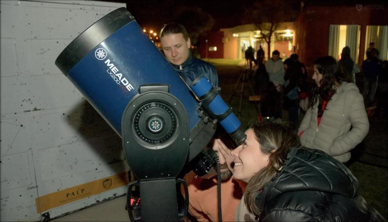 Disfrutá de las mejores noches astronómicas en el PALP