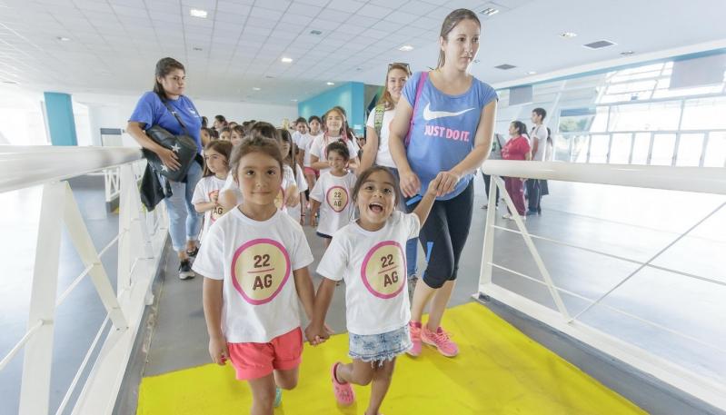 Más de 100 niños de La Punta visitaron la ULP