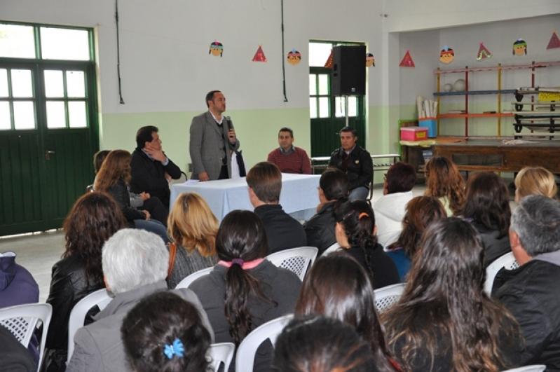 Sosa se presentó formalmente como Rector de la ULP en el sur provincial