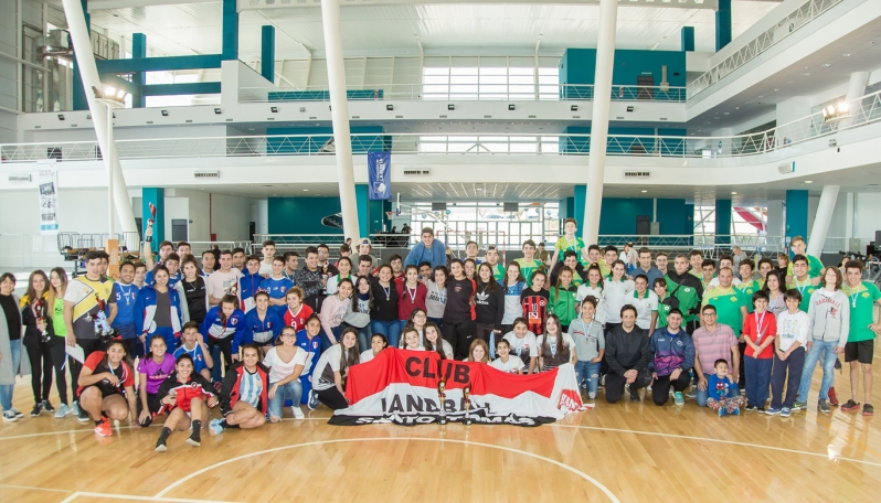 El Campus Abierto ULP abrió sus puertas al handball Provincial