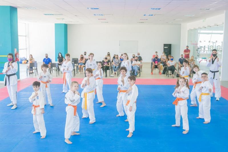 El Taekwondo del Campus cerró el año con exámenes