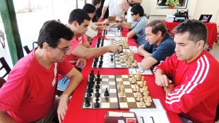 Los internos del Servicio Penitenciario participaron del 4to Torneo Integrador de Ajedrez