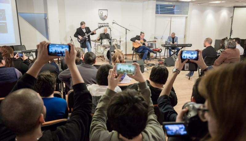 Se presentó la Escuela de Música de la ULP