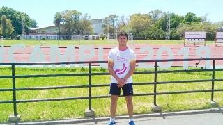 William Oyola potencia su preparación para el Sudamericano de Lucha