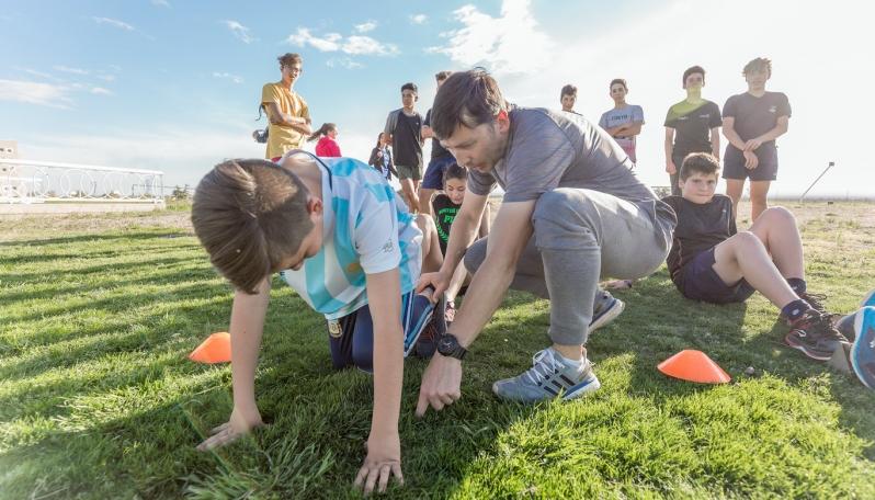 Se viene una jornada de mini atletismo en el Campus