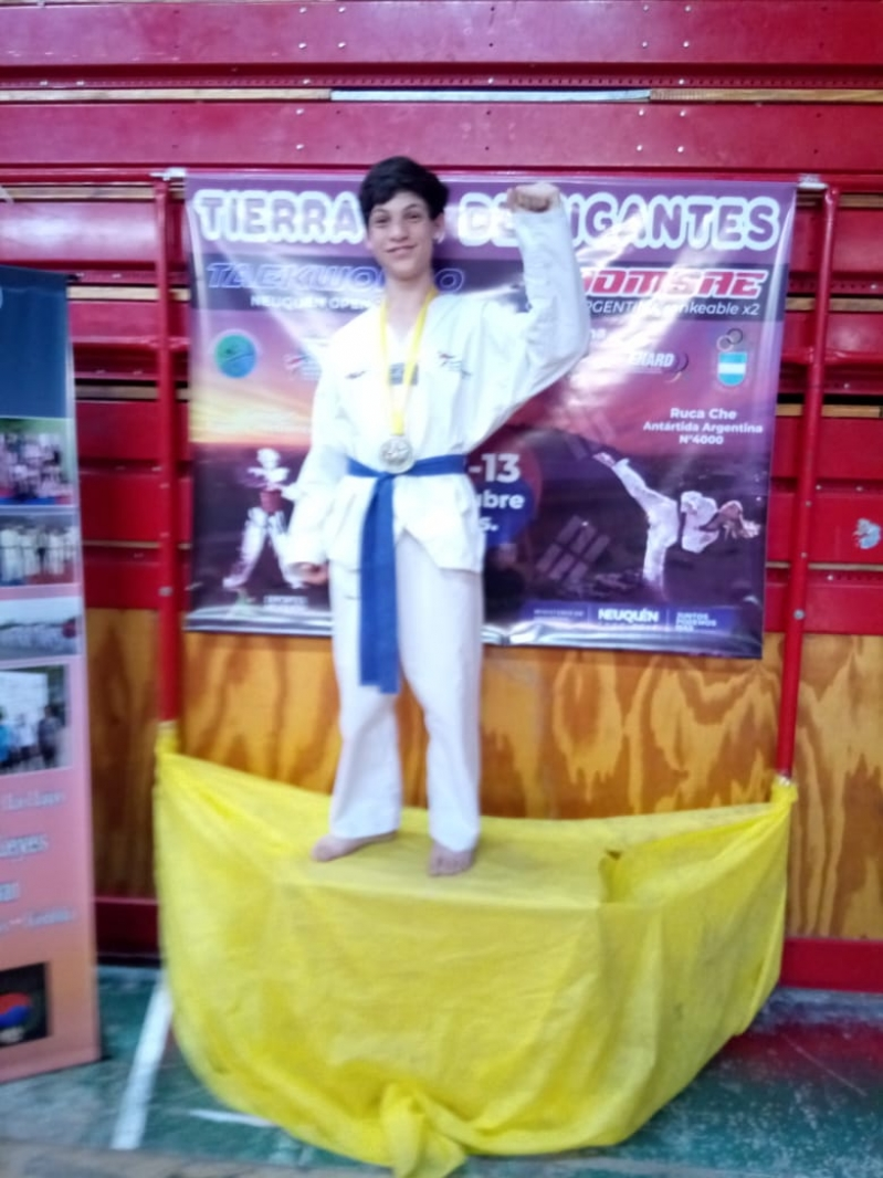 Taekwondo: Oro para Mirco Mallimacci