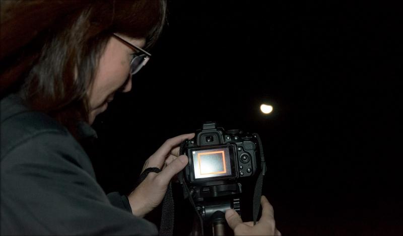 Una velada para fotografiar los astros en el Parque Astronómico