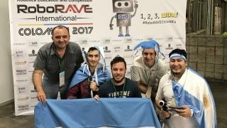 Gran inicio de la delegación puntana en la RoboRAVE de Colombia