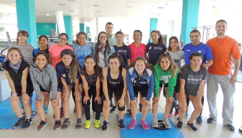 La sub-16 de fútbol femenino de San Luis se prepara en el Campus para el Torneo Nacional