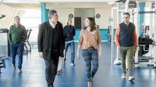 El presidente de la Confederación Argentina de Atletismo visitó el Camus de la ULP
