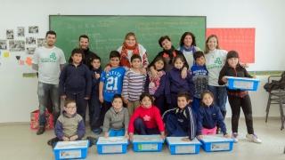 Los talleres de robótica de la ULP llegaron  al Barrio Serranías Puntanas