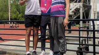 Tomás Páez se coronó campeón Nacional U20 en 400 metros con vallas