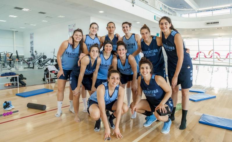La Selección Femenina de Básquet se prepara para la AmeriCup 2017 en el Campus Abierto ULP