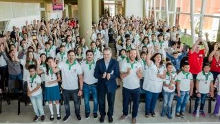 En una jornada de alegría y emoción, premiaron a los ganadores de las Olimpíadas 2017