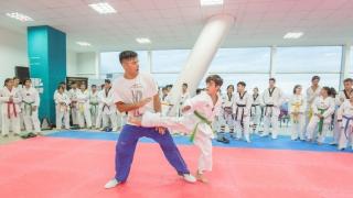 Los entrenadores de la Selección Argentina de taekwondo iniciaron los entrenamientos en el Campus