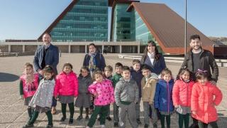 Niños de Villa Mercedes visitaron el Centro de Emergencias 911