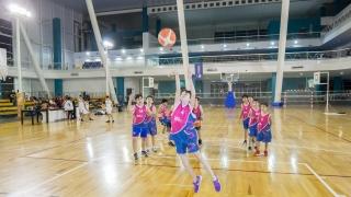 La escuela de básquet de Campus está en permanente crecimiento