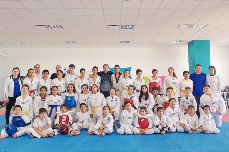 El Campus recibió el 2° Encuentro de Taekwondo