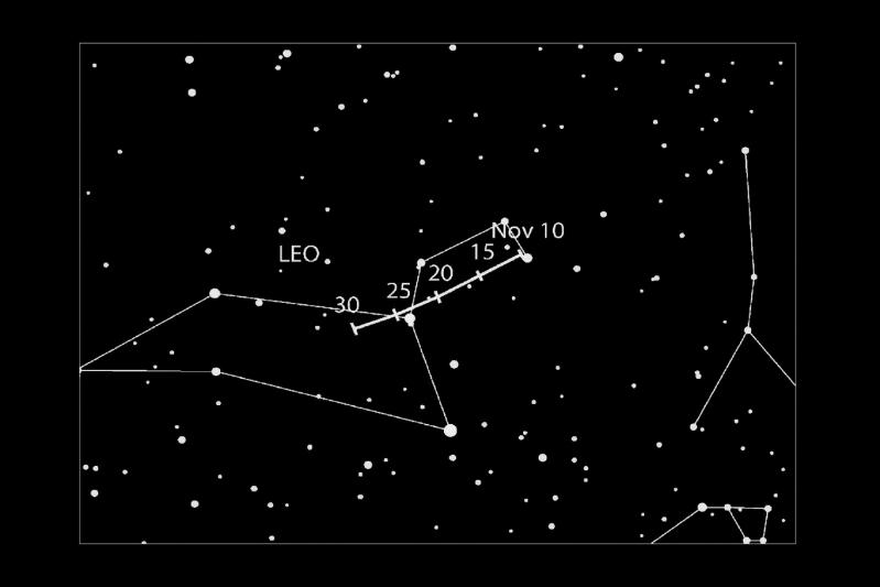 Hasta finales de noviembre se podrá observar la lluvia de meteoros Leónidas