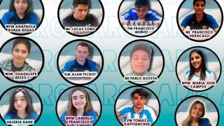 Los puntanos Acosta y Besso debutan en la Primera Olimpíada de Ajedrez On Line