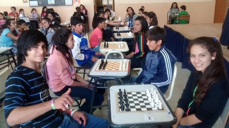 Los chicos de Villa de la Quebrada cerraron el año jugando al ajedrez