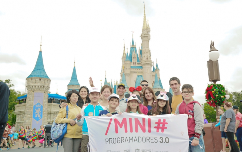 Magic Kindom deslumbró a los Mini Programadores