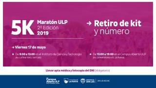 """Este miércoles cierra la inscripción para la segunda edición de los 5K de """"La Maratón ULP"""""""