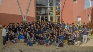 Más de 100 alumnos de Juana Koslay vivieron una jornada a pura ciencia en la ULP