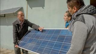 El sol, el mejor aliado de la planta de Reciclados ULP