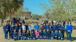 Los chicos de la Rosenda Quiroga de La Punta se  preparan para conocer el Teatro Colón
