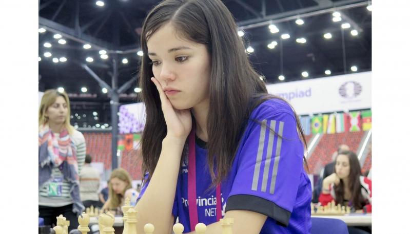 Ayelén Martínez brilló en la Olimpíada de Bakú