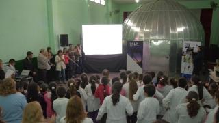 El Planetario Itinerante comenzó su recorrido científico por la provincia