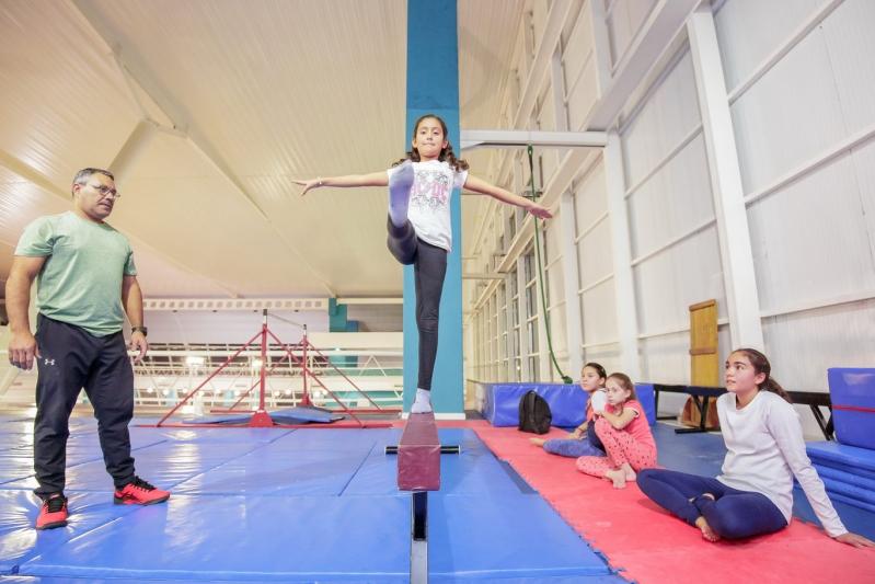 El equipo de gimnasia artística del Campus ULP competirá en el Provincial