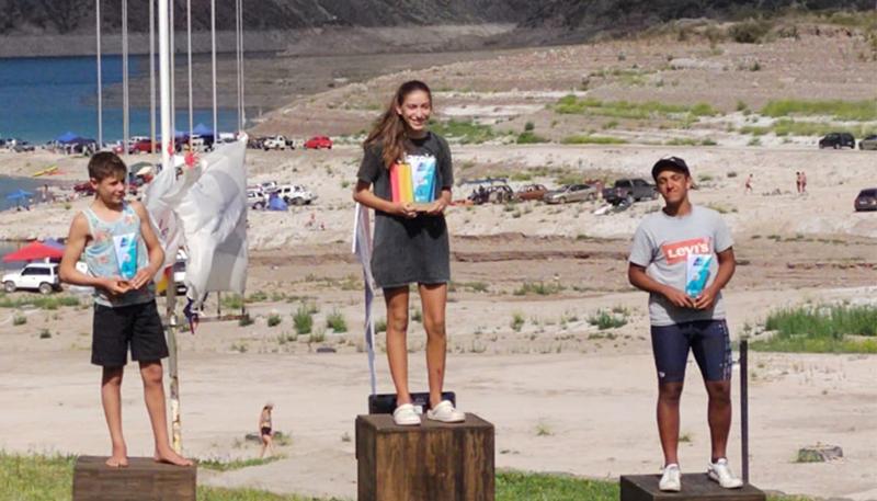 Adriano Nick hizo podio en el Argentino de Windsurf
