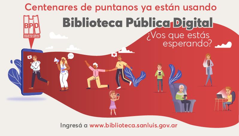 La Biblioteca Pública Digital sigue sumando lectores