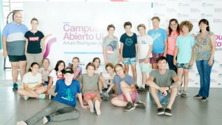 Un contingente de Venado Tuerto recorrió el Campus Abierto ULP