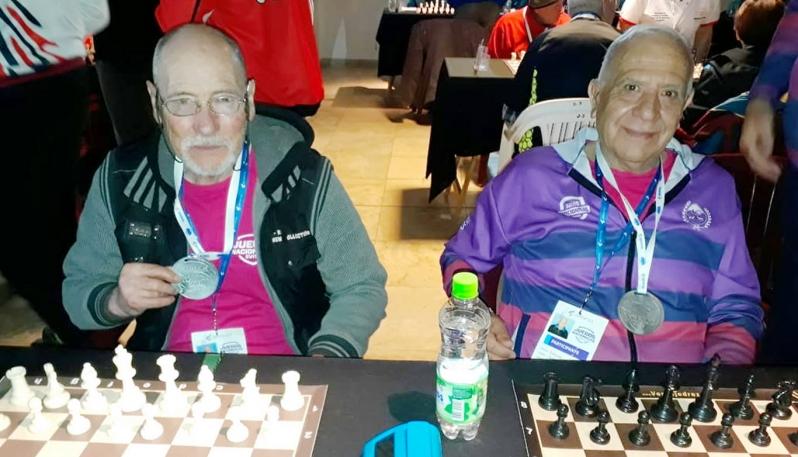 Los abuelos de San Luis participaron de los Juegos Nacionales Evita de Ajedrez para Adultos Mayores en Bariloche