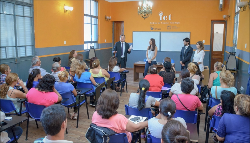 La ULP comenzó con las capacitaciones  a los beneficiarios de Inclusión Social