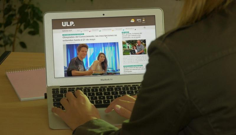 La ULP presenta su moderna plataforma de noticias