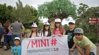 "Los Mini Programadores se aventuraron en ""Animal Kingdom"""