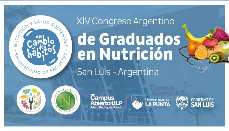 Presentaron el XIV Congreso Argentino de Graduados en Nutrición