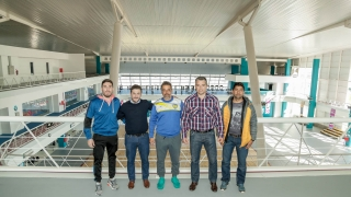 El cuerpo técnico de Juventud visitó el Campus Abierto ULP