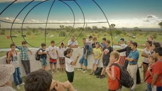 Turismo científico: niños de La Plata se acercaron a la astronomía en el PALP