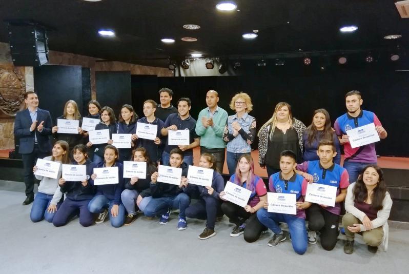 """Premiaron a los ganadores del concurso """"Desafío Vocacional"""""""