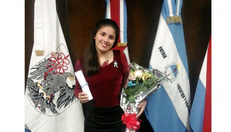 """Guadalupe Besso: """"Este logro es para San Luis,  todo lo que hago es por mi provincia"""""""